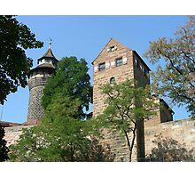 Torre de Castillo de Nuremberg. Photographic Print