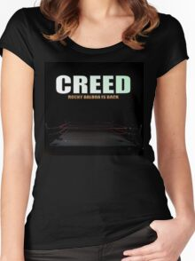 Creed 2015 Rocky Balboa is Back Women's Fitted Scoop T-Shirt