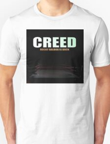 Creed 2015 Rocky Balboa is Back T-Shirt