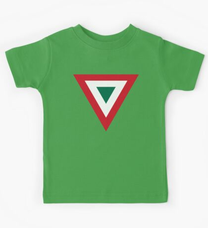 Mexican Air Force Insignia Kids Tee
