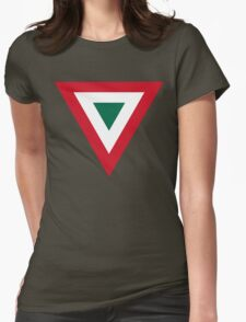 Mexican Air Force Insignia Womens Fitted T-Shirt