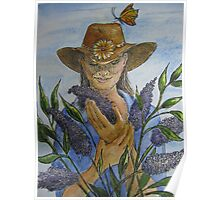 Cowgirl Series: The Butterfly Bush Poster
