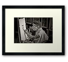 London's Picasso Framed Print