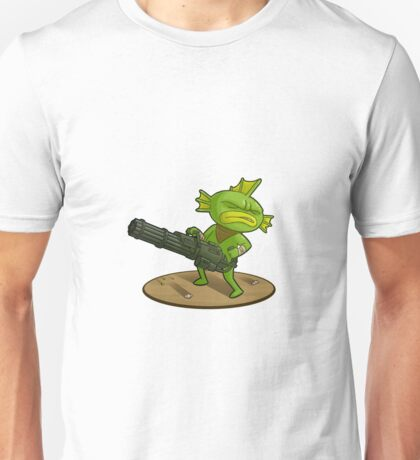 Nuclear Throne - Fish with Minigun - HIGH QUALITY Unisex T-Shirt