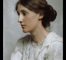 Virginia Woolf, 1902 by Dana Keller