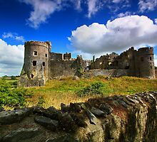 Carew - Mediaeval Castle -Pembrokeshire by Mark Haynes Photography