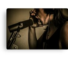 Chase Recording Canvas Print