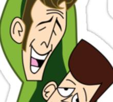 Clone High - Two Peas In A Pod Sticker