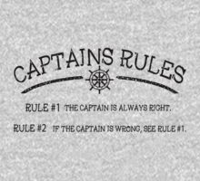 Captains Rules by Fl  Fishing
