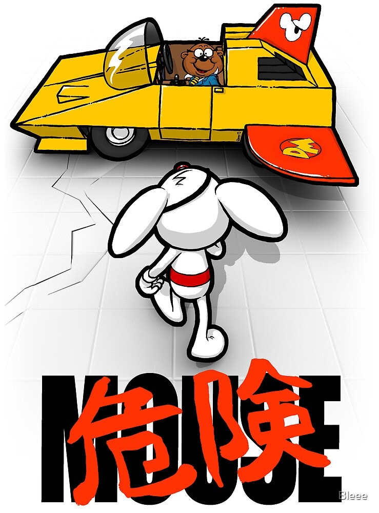 Dangerkira Mouse by Bleee