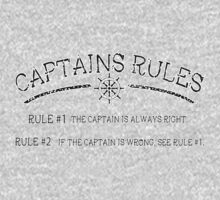 Captains Rules Stroke One Piece - Long Sleeve