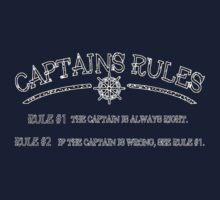 Captains Rules Stroke T-Shirt