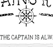 Captains Rules Stroke Sticker