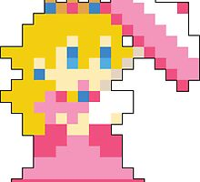 Super Mario Maker - Princess Peach Costume Sprite by NiGHTSflyer129