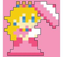 Super Mario Maker - Princess Peach Costume Sprite Photographic Print