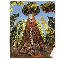 ☁ ☂ SHERMAN TREE WHY AM I ZIPPED YOU WONDER WHY?☁ ☂ PLEASE READ MY WRITTEN HEARFELT POEM TY IN DESCRIPTION☁ ☂ Poster