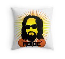 Abide Dude T Shirt Throw Pillow