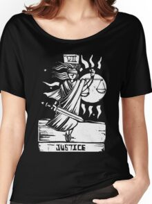 Justice - Tarot Cards - Major Arcana Women's Relaxed Fit T-Shirt