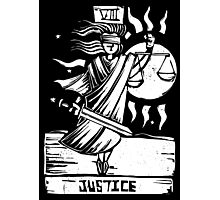 Justice - Tarot Cards - Major Arcana Photographic Print