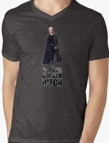 Out for a walk. Bitch. Mens V-Neck T-Shirt