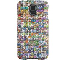 Pokemon Collage Samsung Galaxy Case/Skin