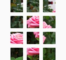 Pink Roses in Anzures 5  Art Rectangles 2 Unisex T-Shirt
