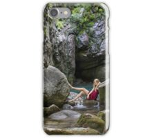 Chilled water iPhone Case/Skin