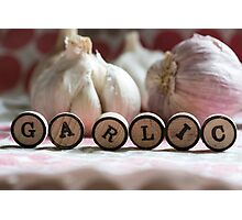 Garlic Photographic Print