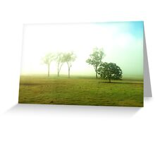Haunted Dawn Greeting Card