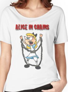 """Alice In Chains"" Women's Relaxed Fit T-Shirt"