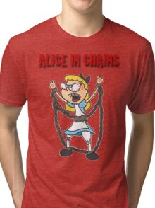 """""""Alice In Chains"""" Tri-blend T-Shirt"""