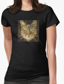 Ginger the Cat Womens Fitted T-Shirt