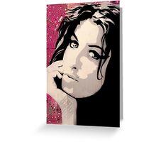 Amy Greeting Card
