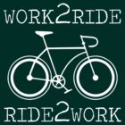 Work 2 Ride - Ride 2 Work  by KraPOW