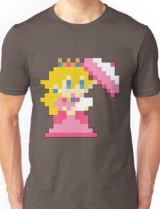 Super Mario Maker - Princess Peach Costume Sprite Unisex T-Shirt