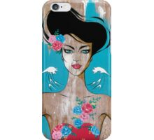 Who do you think you are? iPhone Case/Skin