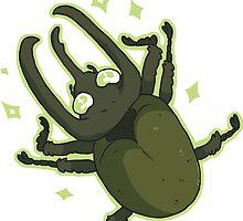 Atlas Beetle by Clair C