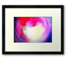 The Light Is The Art 11 Framed Print