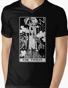 Tarot Card - Major Arcana - fortune telling - occult Mens V-Neck T-Shirt