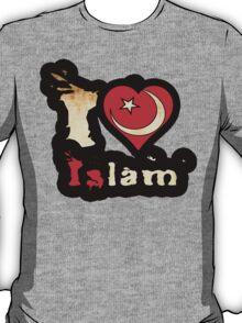 I Love Islam T-Shirt T-Shirt