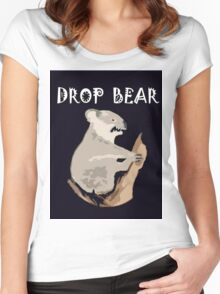 DROP BEAR Women's Fitted Scoop T-Shirt