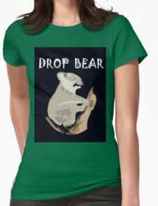 DROP BEAR Womens Fitted T-Shirt