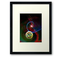 Great Ball of Fire Framed Print