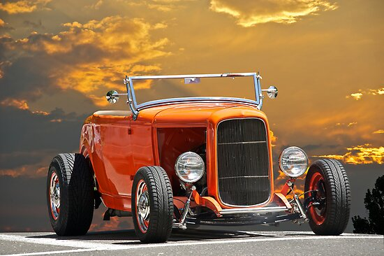 1932 Ford Roadster 'Orange Crate' by DaveKoontz