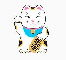 Maneki-neko good luck cat pattern Unisex T-Shirt