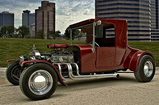 1927 Ford High Top T Hot Rod by TeeMack