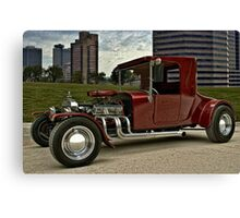 1927 Ford High Top T Hot Rod Canvas Print