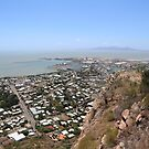Townsville from above by Karen Stackpole