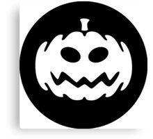 Pumpkin Halloween Ideology Canvas Print