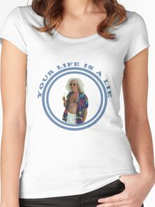 MGMT - Your Life Is a Lie 2 Women's Fitted Scoop T-Shirt